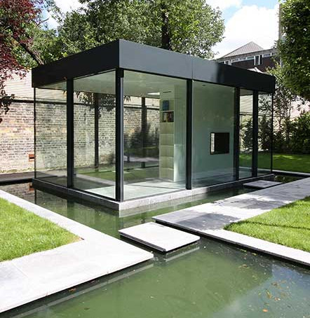 External Glass Box Extension