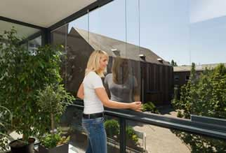 structural glass for balconies