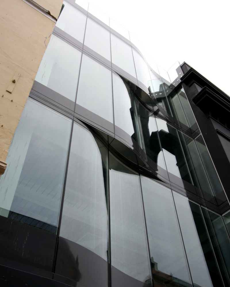 structural glass facade