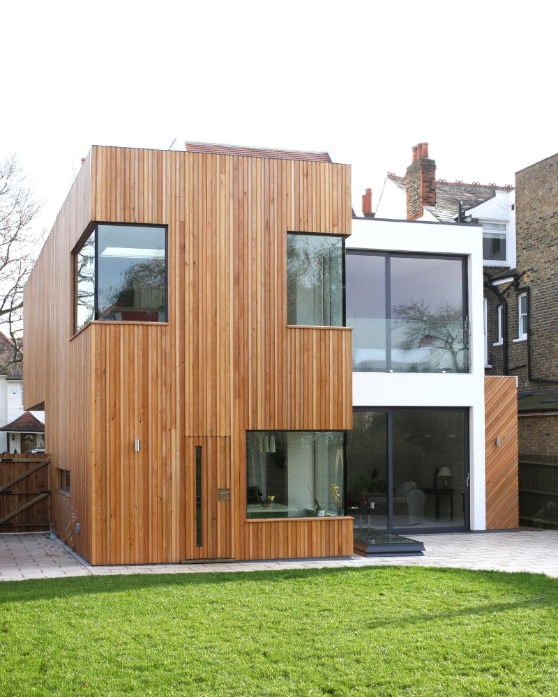 eco house renovation in west london
