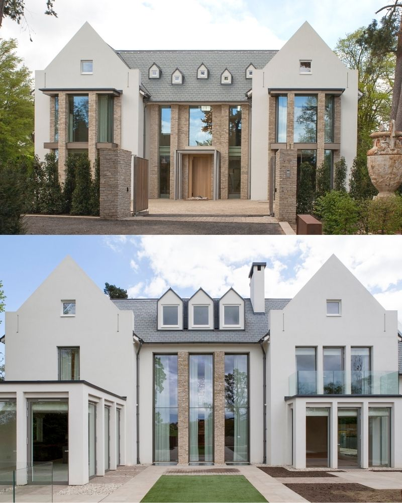 camlet way phase 2 - minimal windows automated double height vertical sliding windows